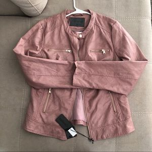 Faux leather jacket New with tags!